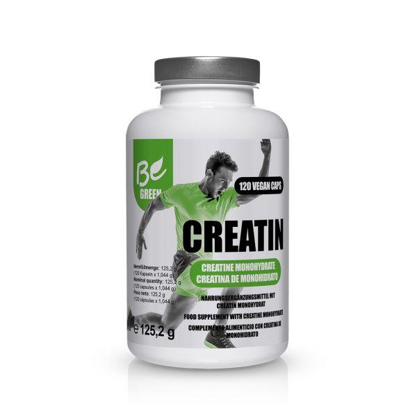 Creatin Kapseln - reines Kreatin Monohydrat - Leistung steigern