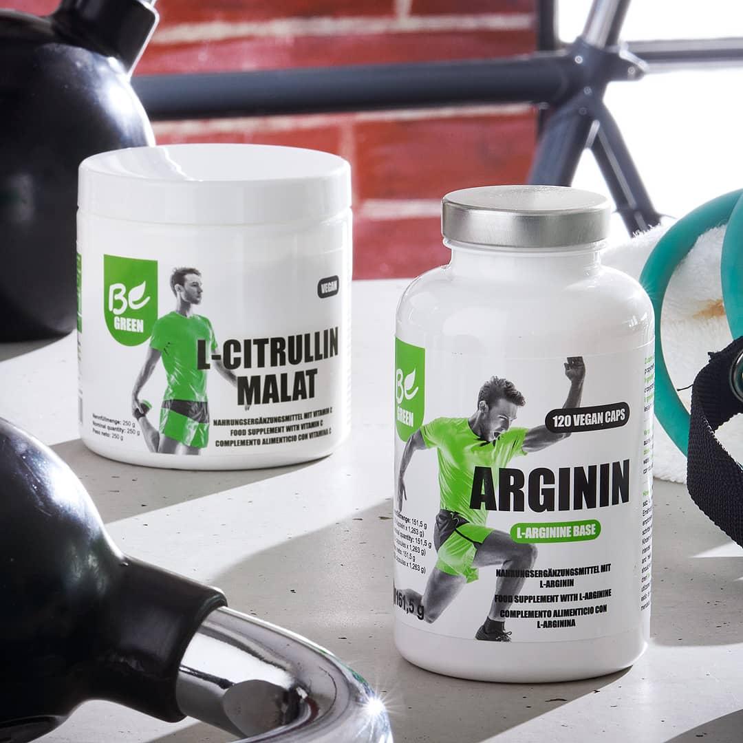Arginin und Citrullin Malat von BeGreen kaufen