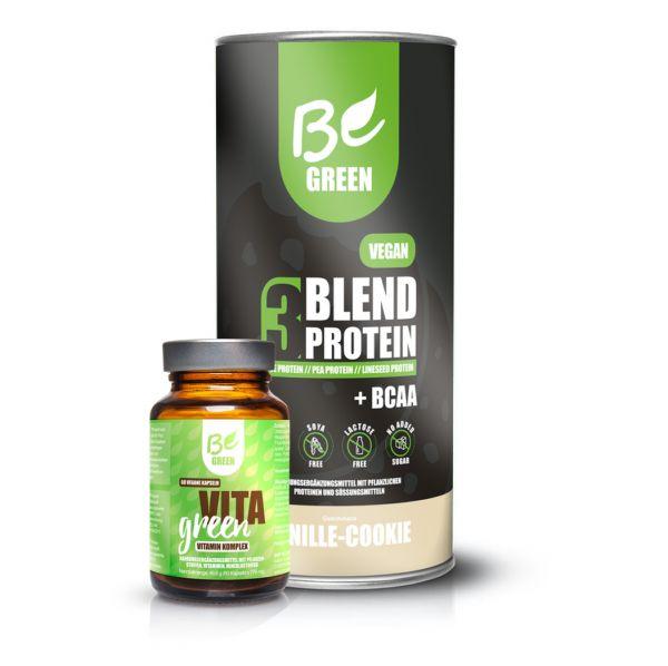 Bundle Basic - Protein Pulver und Vitamine hochdosiert